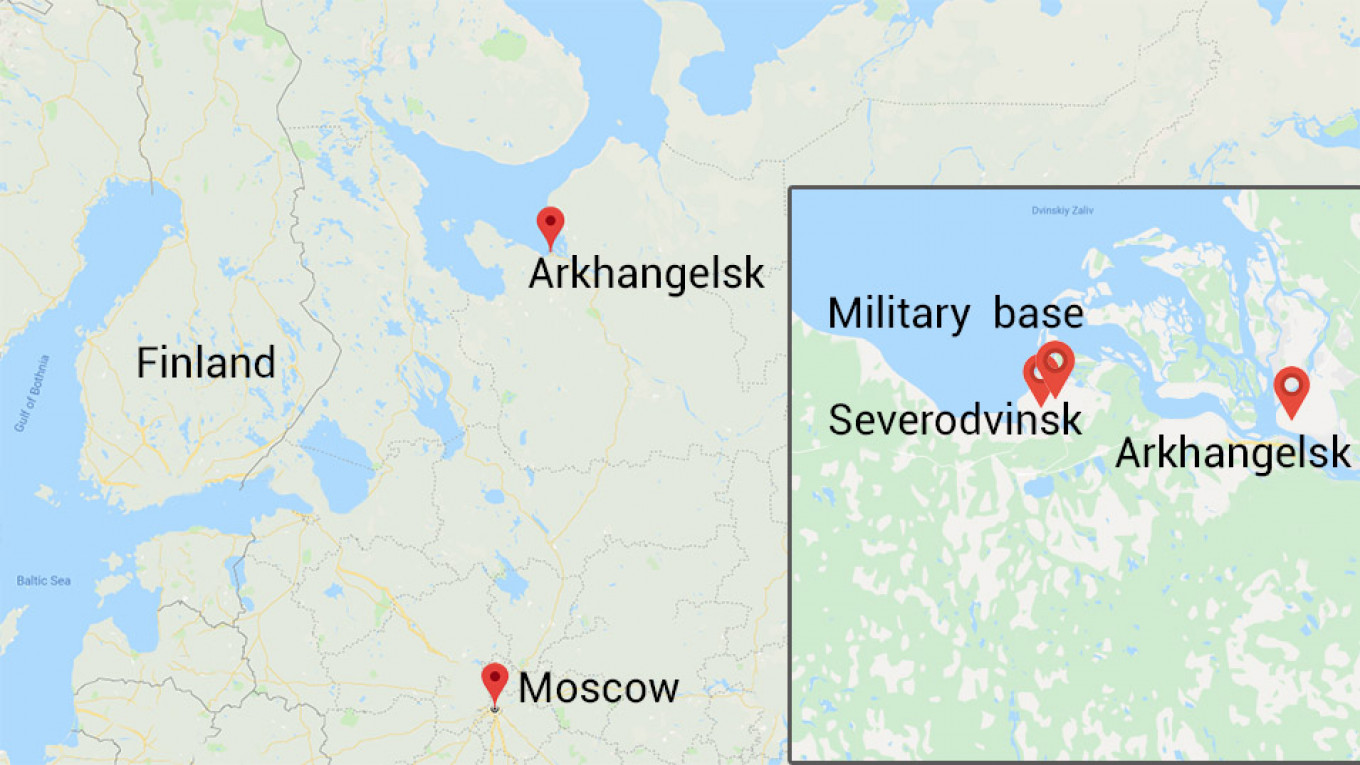 Officials stopped flying staff to Moscow after one was found with a radioactive isotope in his body. Google Maps, MT
