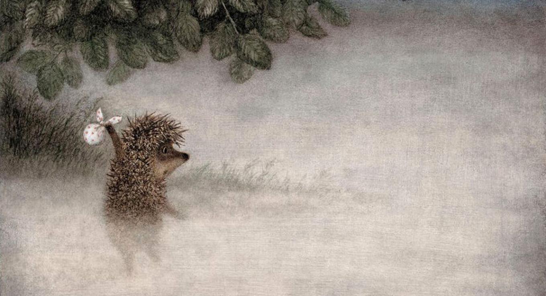 """""""Hedgehog in the Fog"""" (1975) kinopoisk.ru"""