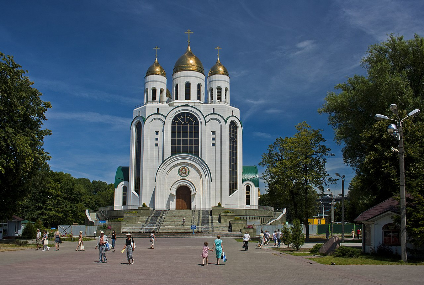 Russian Troops Detained for Washing Shoes in Holy Water - The Moscow Times