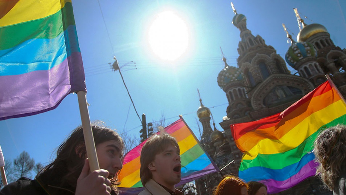 St  Petersburg Named Russia's Most LGBT-Friendly City
