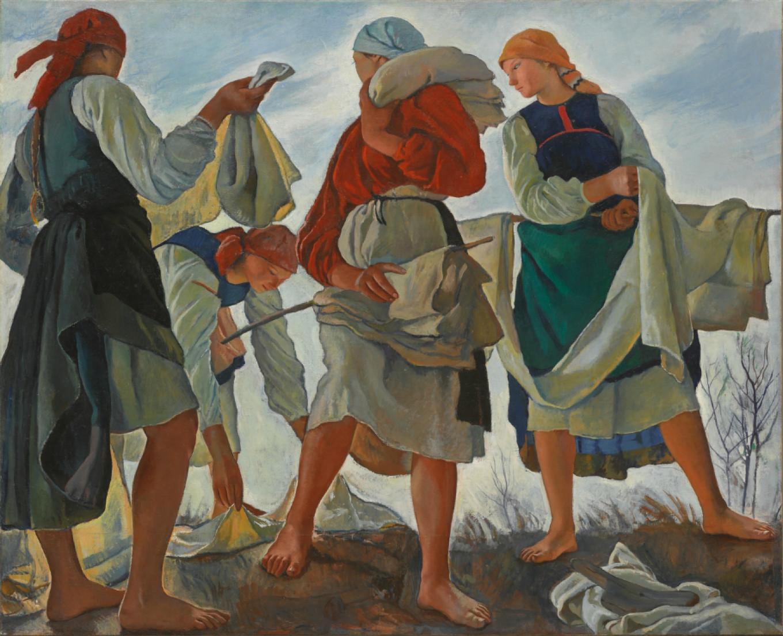 Bleaching Cloth Tretyakov Gallery