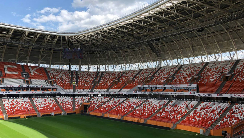 The stadium has a maximum capacity of 44,422. Jake Cordell / MT