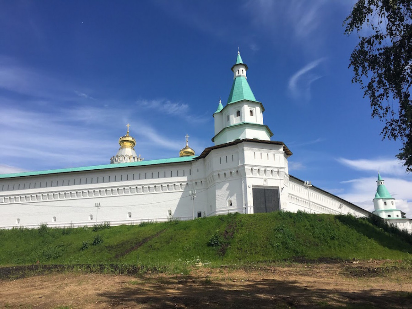 The monastery was  built to be the New Jerusalem, but with traditional Russian architecture.  Ryan Clemente / For MT