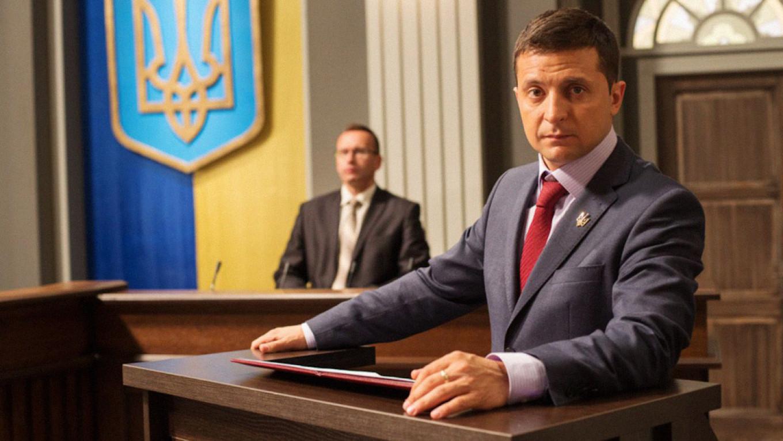 """""""Servant of the People"""" Kvartal 95"""