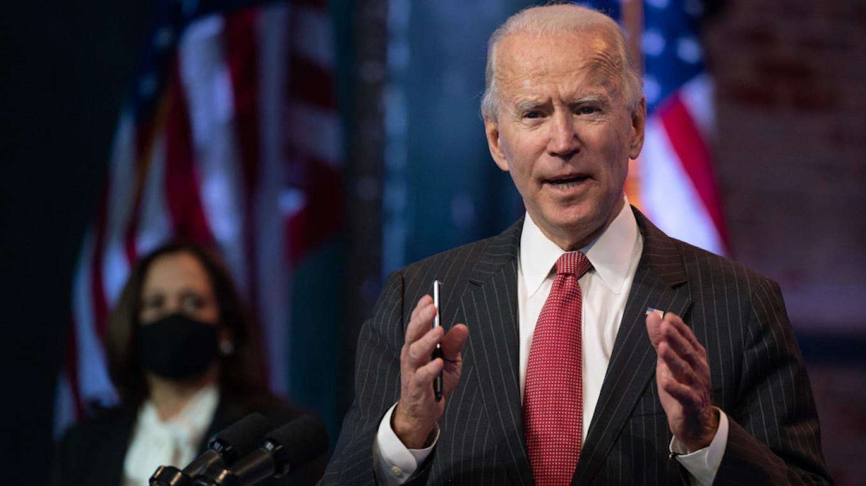 Biden Says U.S. Will 'Never' Accept 'Aggressive' Russia's Crimea Annexation