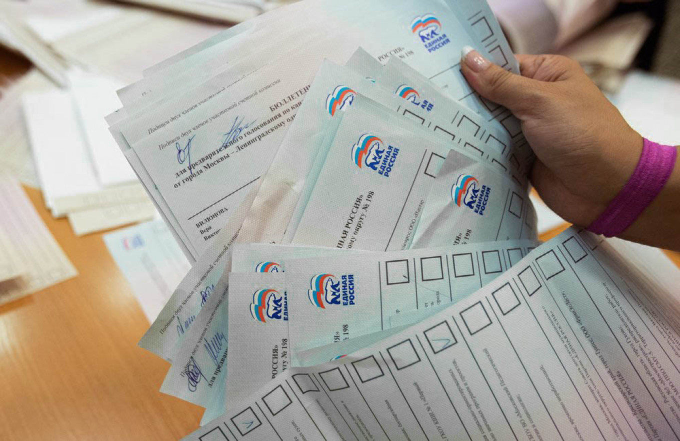 The Kremlin is hoping to refresh the ruling United Russia party ahead of key elections. Kirill Zykov / Moskva News Agency