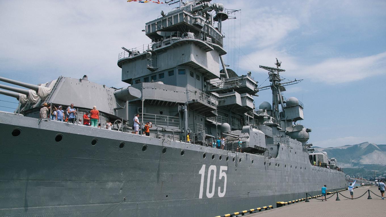A floating naval museum. Igor Pastukhov
