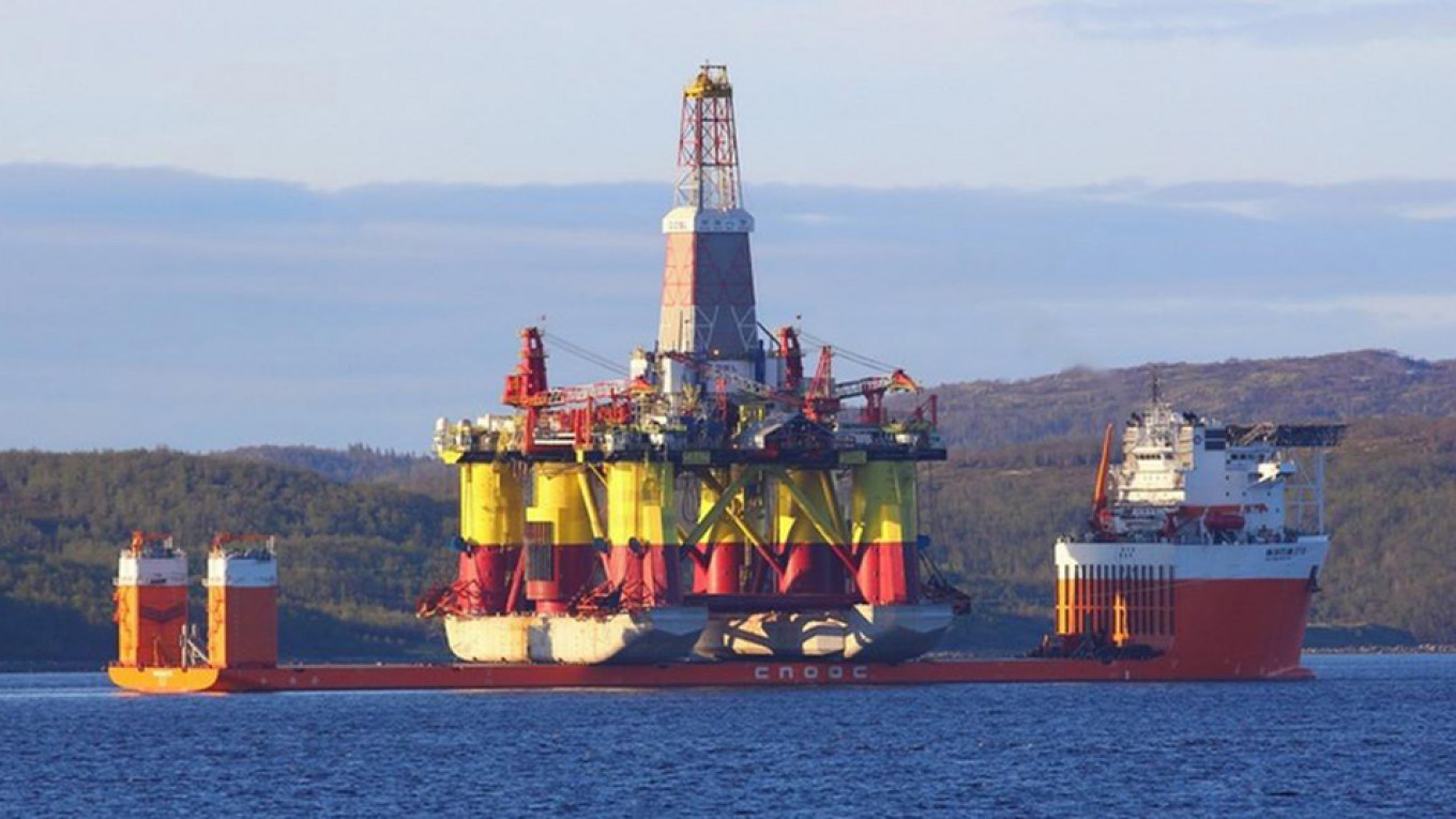 Chinese Oil Drillers Are Back in Russian Arctic - The Moscow