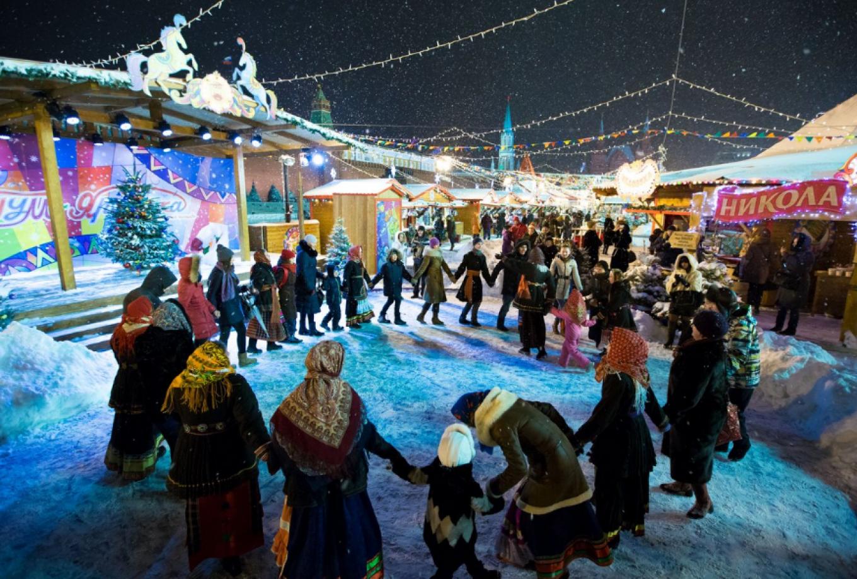 GUM Christmas market gum.ru