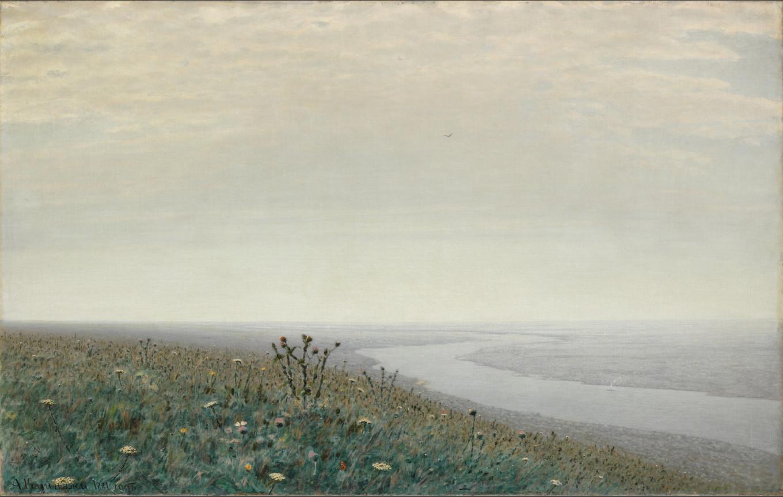 """""""Dnieper in the Morning"""" 1881 Arkhip Kuindzhi Courtesy of Tretyakov Gallery"""