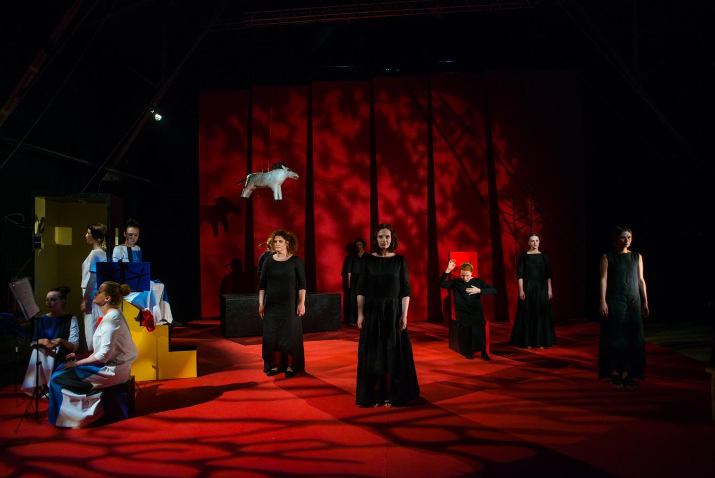 """The House of Bernarda Alba"" at the Stanislavsky Electrotheater  Olympia Orlova"