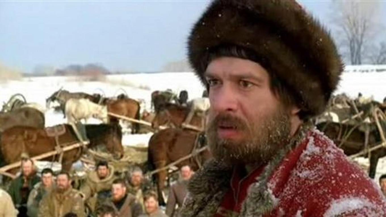 Vladimir Mashkov plays the rebellious Emelyan Pugachyov. YouTube