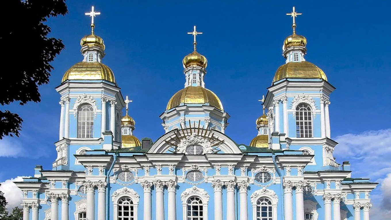 St. Nicholas Naval Cathedral Wikicommons