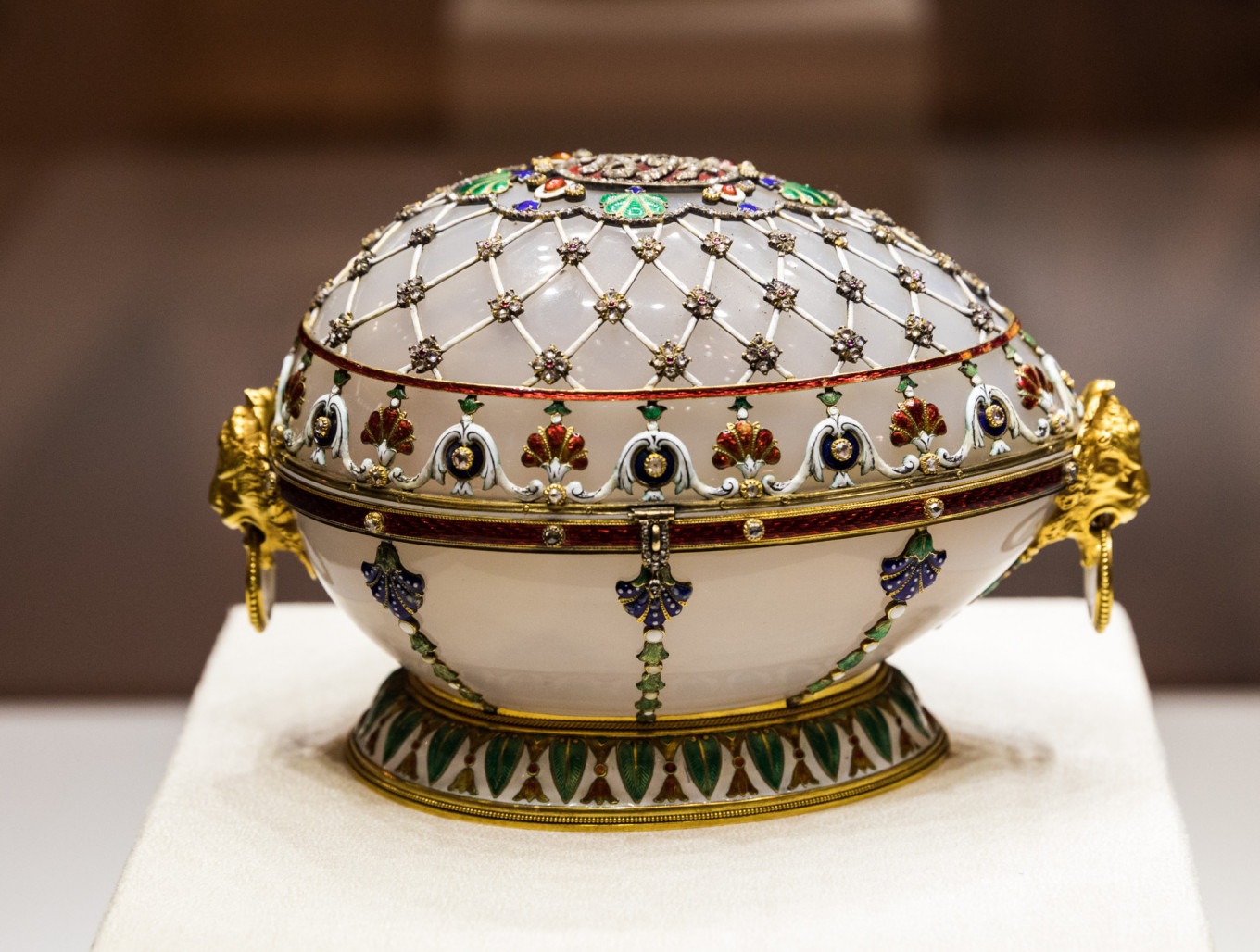 Renaissance Egg, 1894, presented by Emperor Alexander III to his wife, Empress Maria Link of Times Foundation