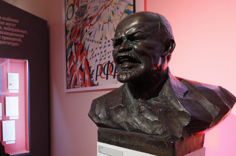 An atypical bust of Vladimir Lenin. Mikhail Japaridze / TASS