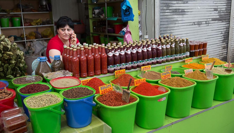 Georgian market Jennifer Eremeeva / MT