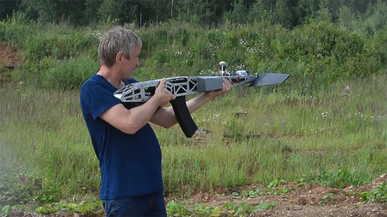 Russia Invents Flying, Shooting Kalashnikov Rifle Drone