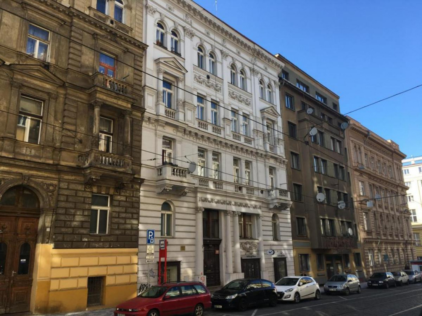 Three companies with links to Prigozhin are headquartered at the same nondescript historic building in Prague				 				OCCRP