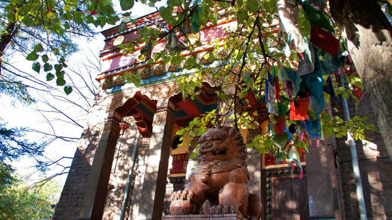 Datsan Gunzechoinei Buddhist Temple Flickr
