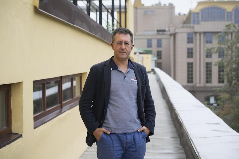 Garegin Barsumyan is the director of Liga Prava, the company that owns the Narkomfin building. Albina Shaimuratova