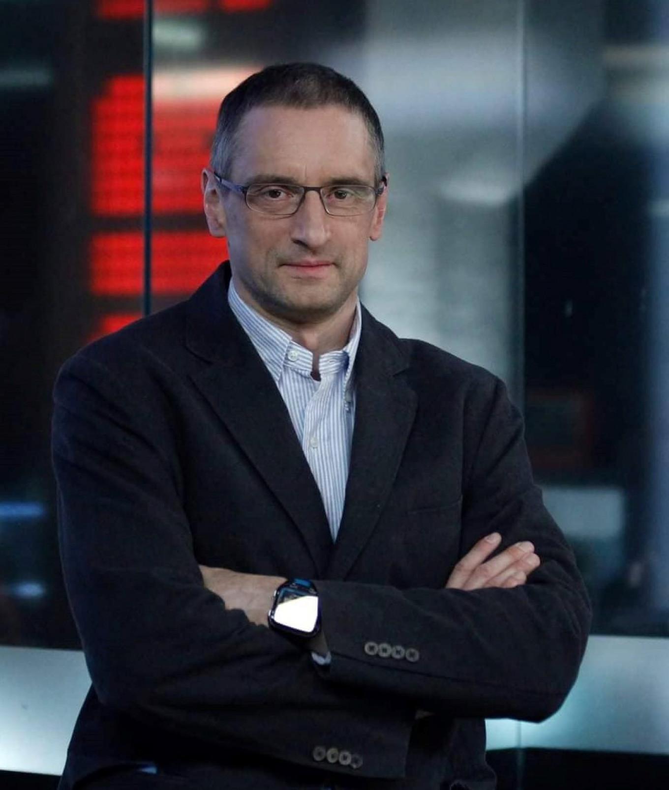 Winning author Sergei Medvedev