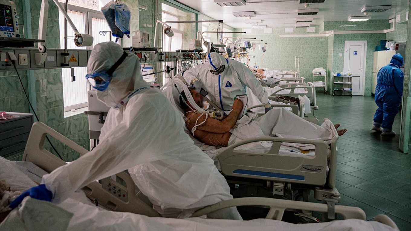 In Leaked Recording, Russian Official Pushes for Changes to Coronavirus Data - The Moscow Times
