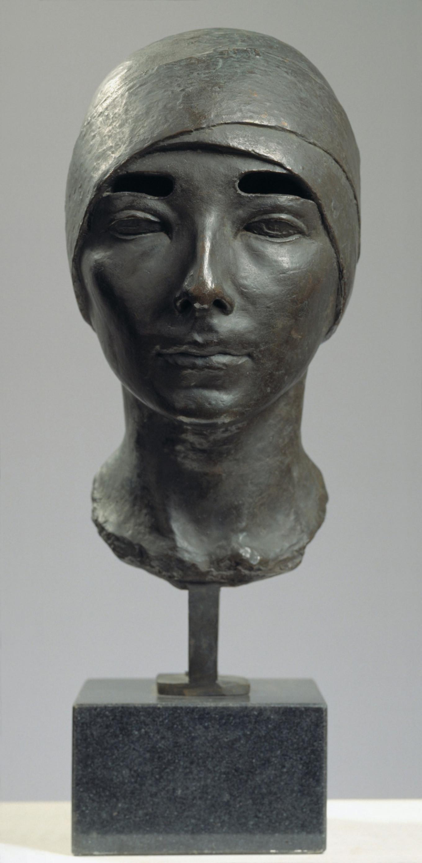 Female portrait (Tsita Volina), 1928  State Tretyakov Gallery