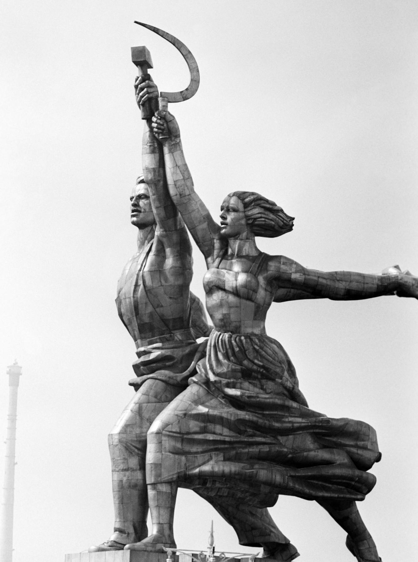 Worker and Kolkhoz Woman, 1939 TASS