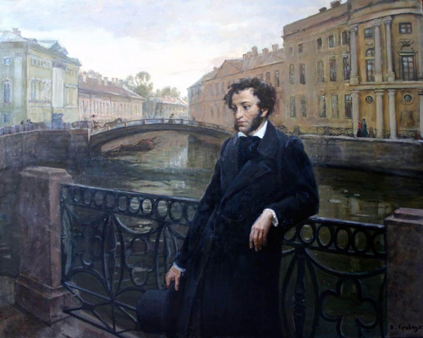 literary living Alexander Pushkin's St. Petersburg Home Goes on Sale for $860K Pushkin penned - The Moscow Times