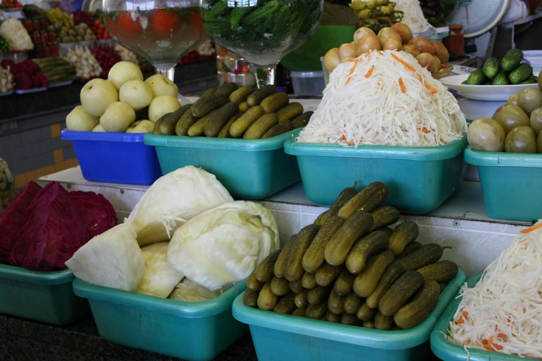 Sour cabbage gives shchi its tang Jennifer Eremeeva / MT