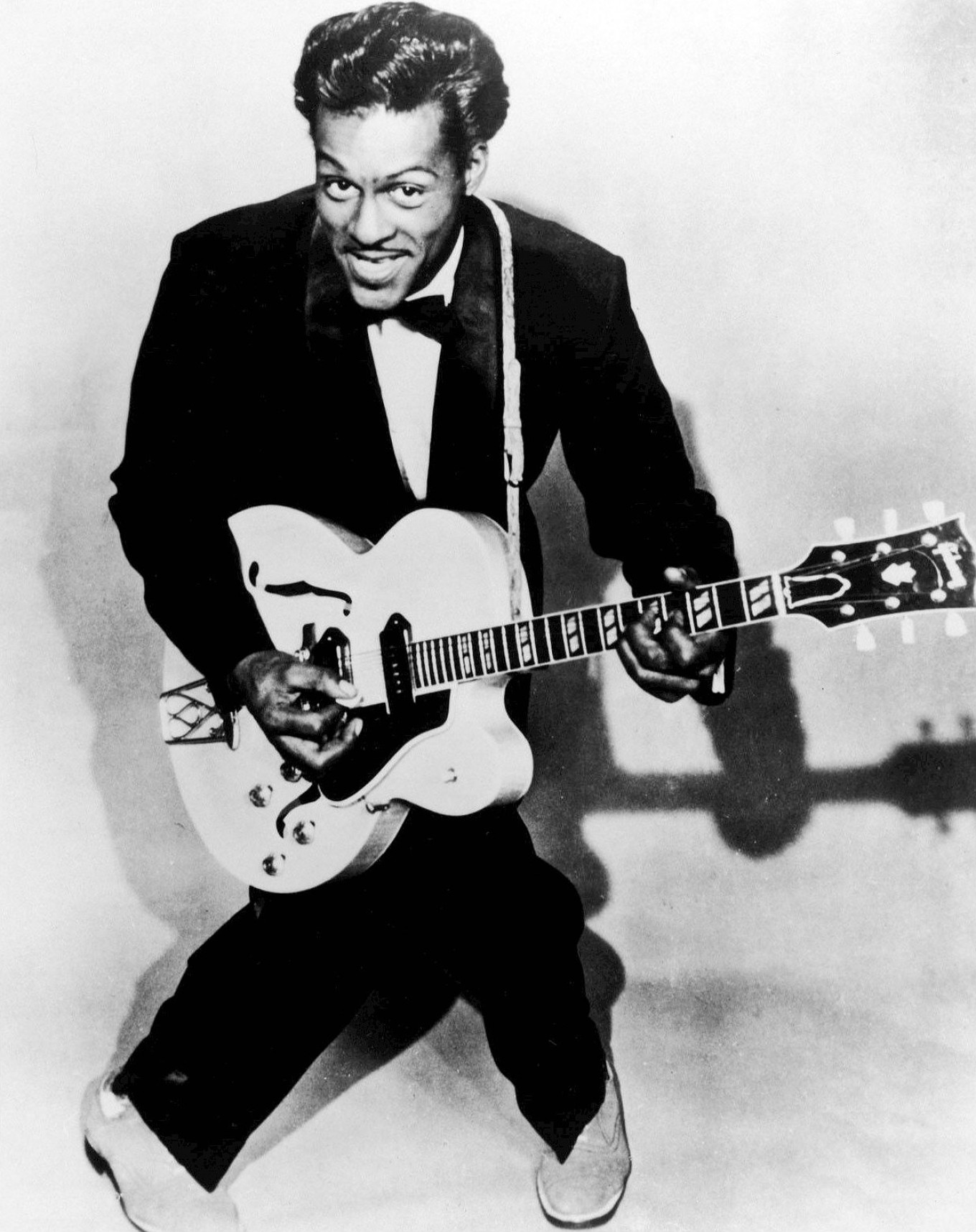 Chuck Berry is one of the 1950s stars who feature in Vanguard Productions' 1956 film 'Rock, Rock, Rock.' UNIVERSAL ATTRACTIONS / WIKIMEDIA COMMONS