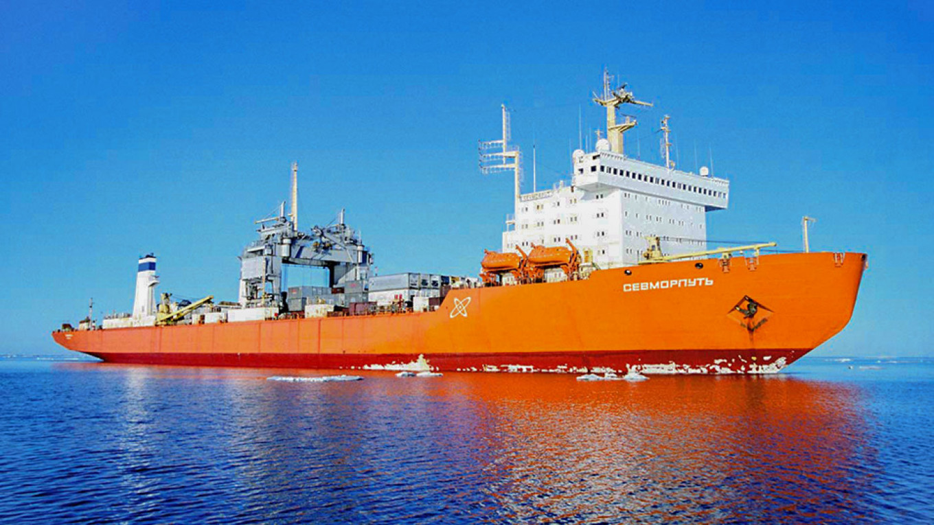 World's Only Nuclear-Powered Civilian Ship Gears Up for Russian Antarctic Voyage - The Moscow Times