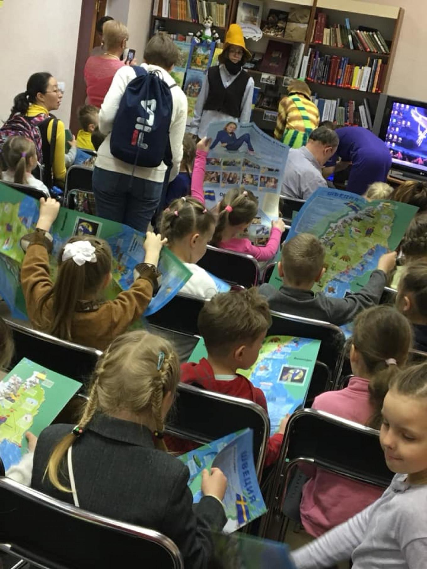 Andersen Children's Library, Kaliningrad Facebook