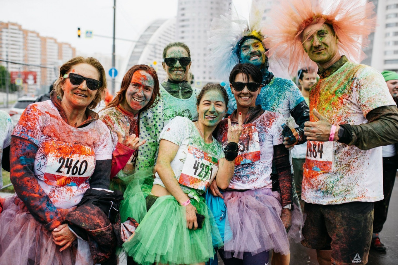 Run in technicolor, 2018				 				Courtesy of Running Community