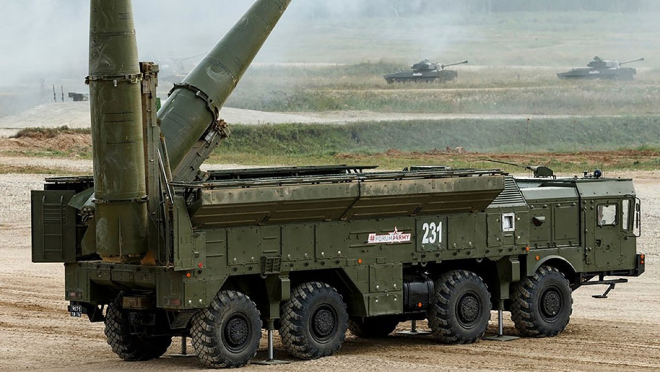 Russia Tests Iskander Ballistic Missile System Amid INF Treaty Spat