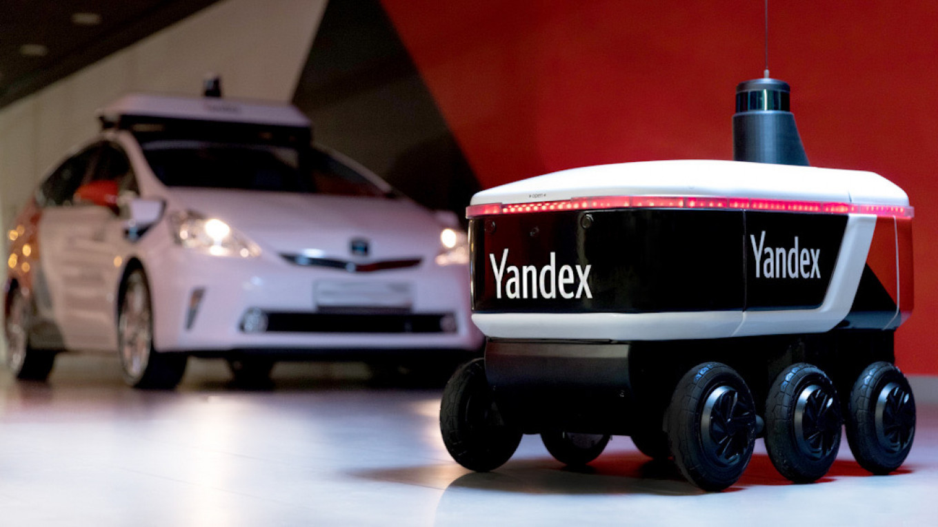 Yandex's driverless cars are in the world's top three for miles driven.				 				Yandex