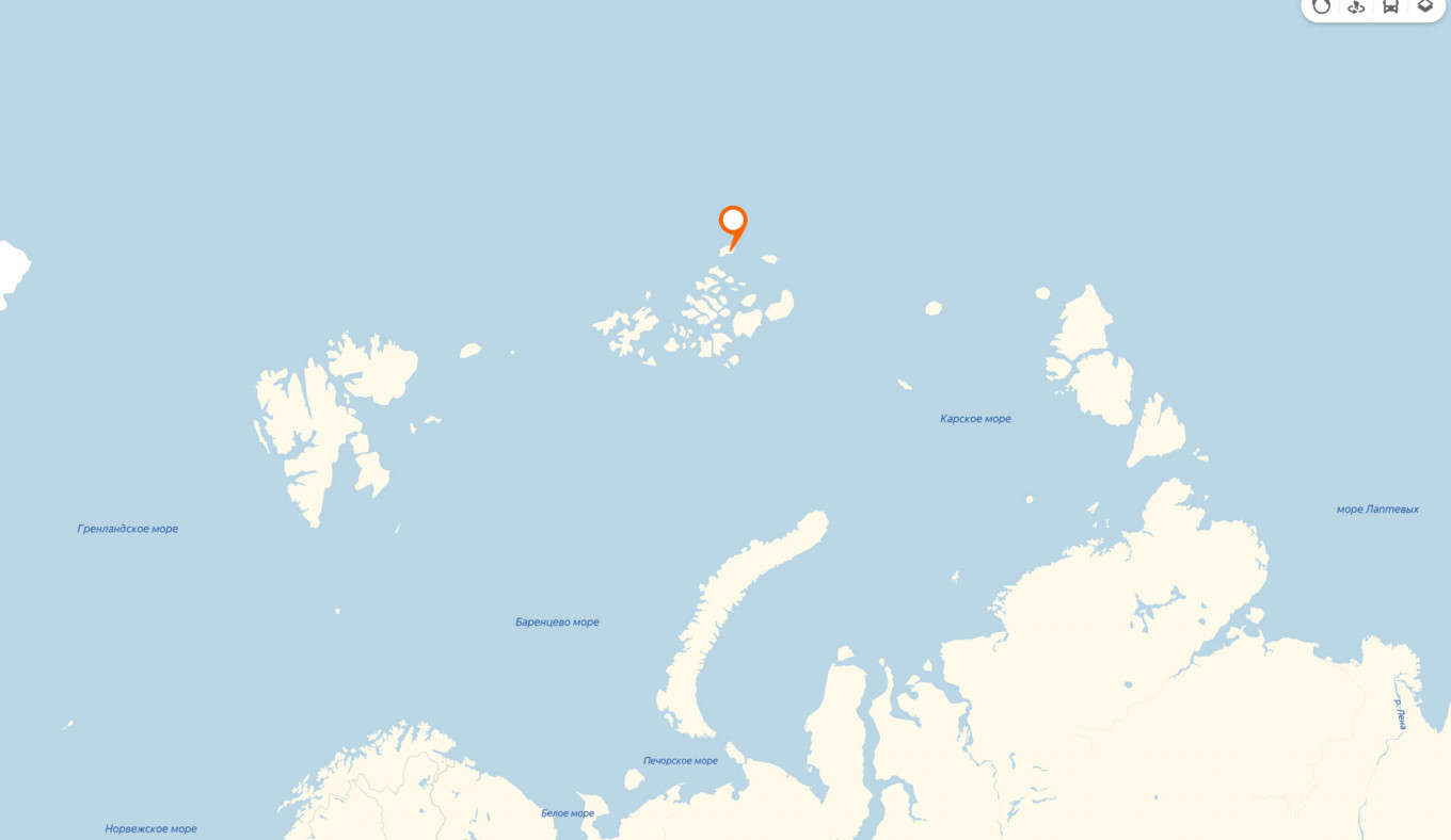 The Rudolf Island is located in Franz Josef Land archipelago. The Barents Observer