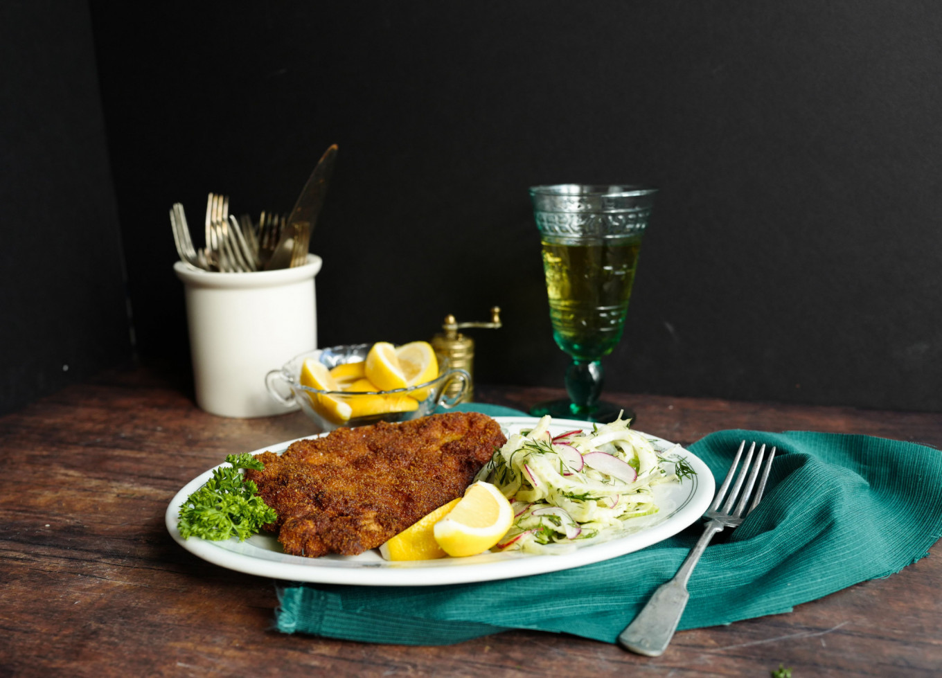 My Favorite Things: Chicken Schnitzel and Slaw - The Moscow Times