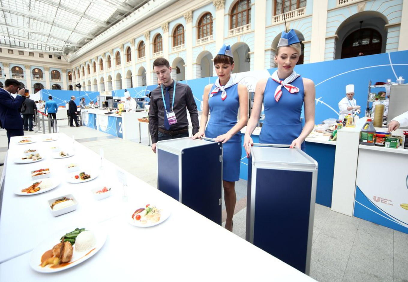 Russian airline catering company Aeromar organizes the event every year. Sergei Vedyashkin / Moskva News Agency
