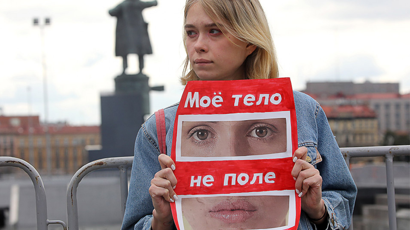Russia's Domestic Violence Problem Is 'Exaggerated,' Justice Ministry Says