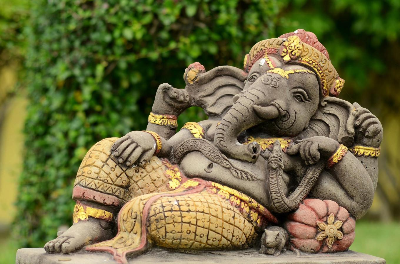 A very chill Ganesha via the Delhi Bazaar. Delhi Bazaar