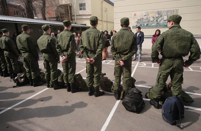 Conscripts serve for a year. Zamir Usmanov / TASS