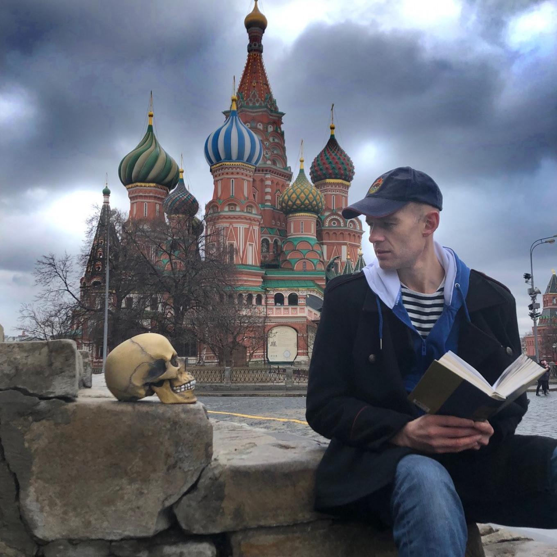 """The Good Russian"" on Red Square. Ksenia Scherbakova"