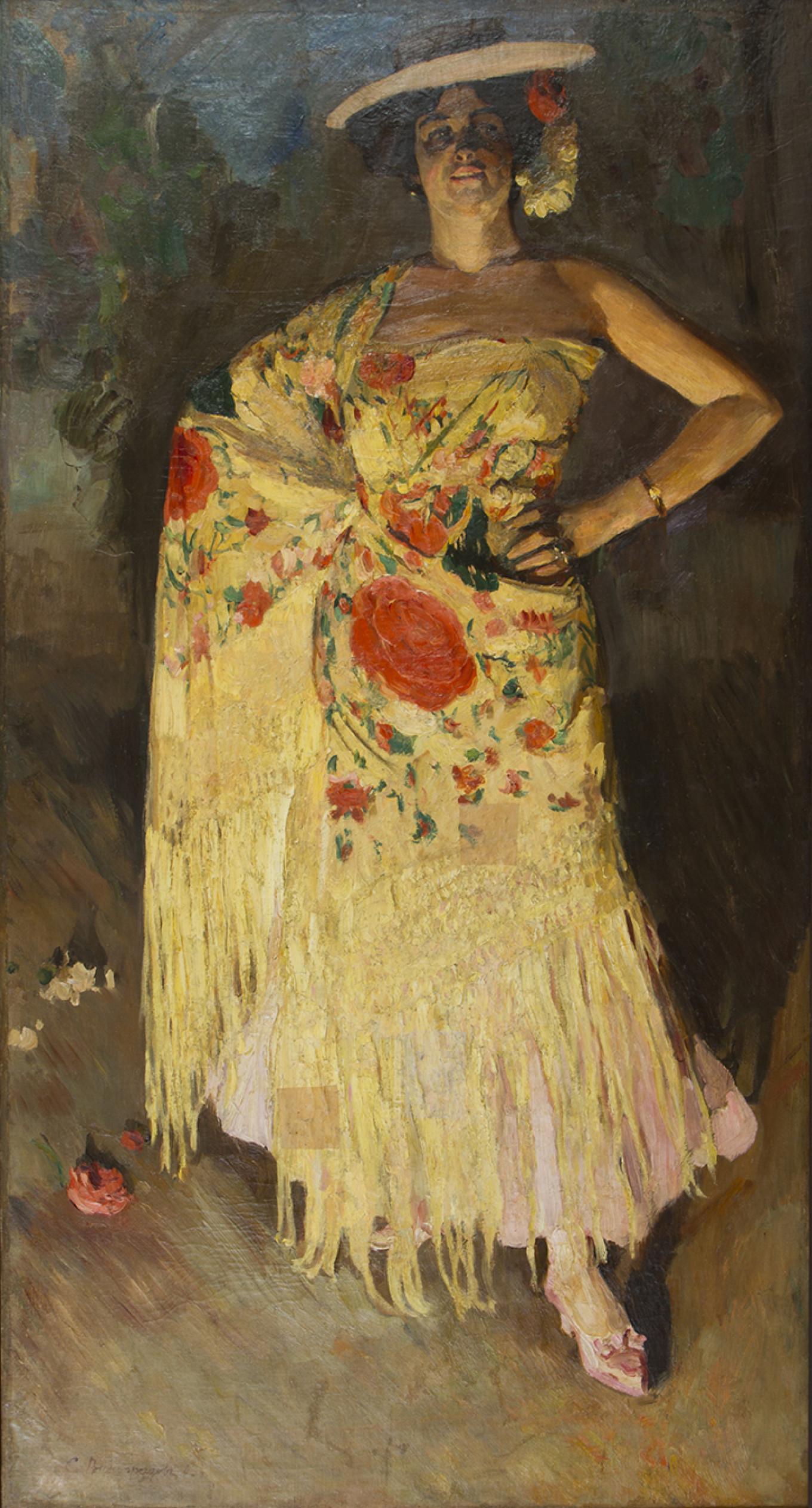 """""""Dancer"""" 1903 Courtesy of Rusimp"""