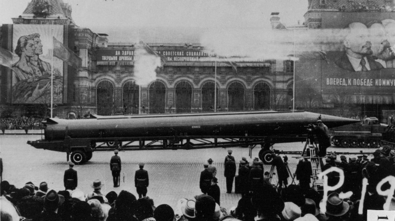 Public Domain Soviet R-12 nuclear ballistic missile