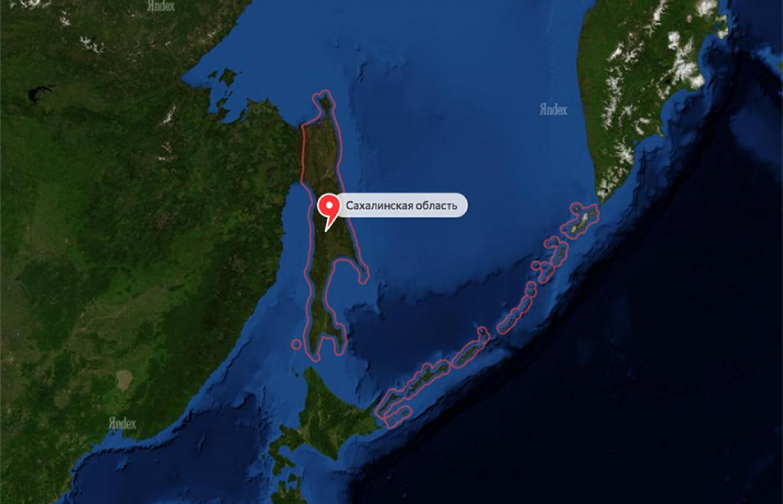 Screenshot Yandex Maps