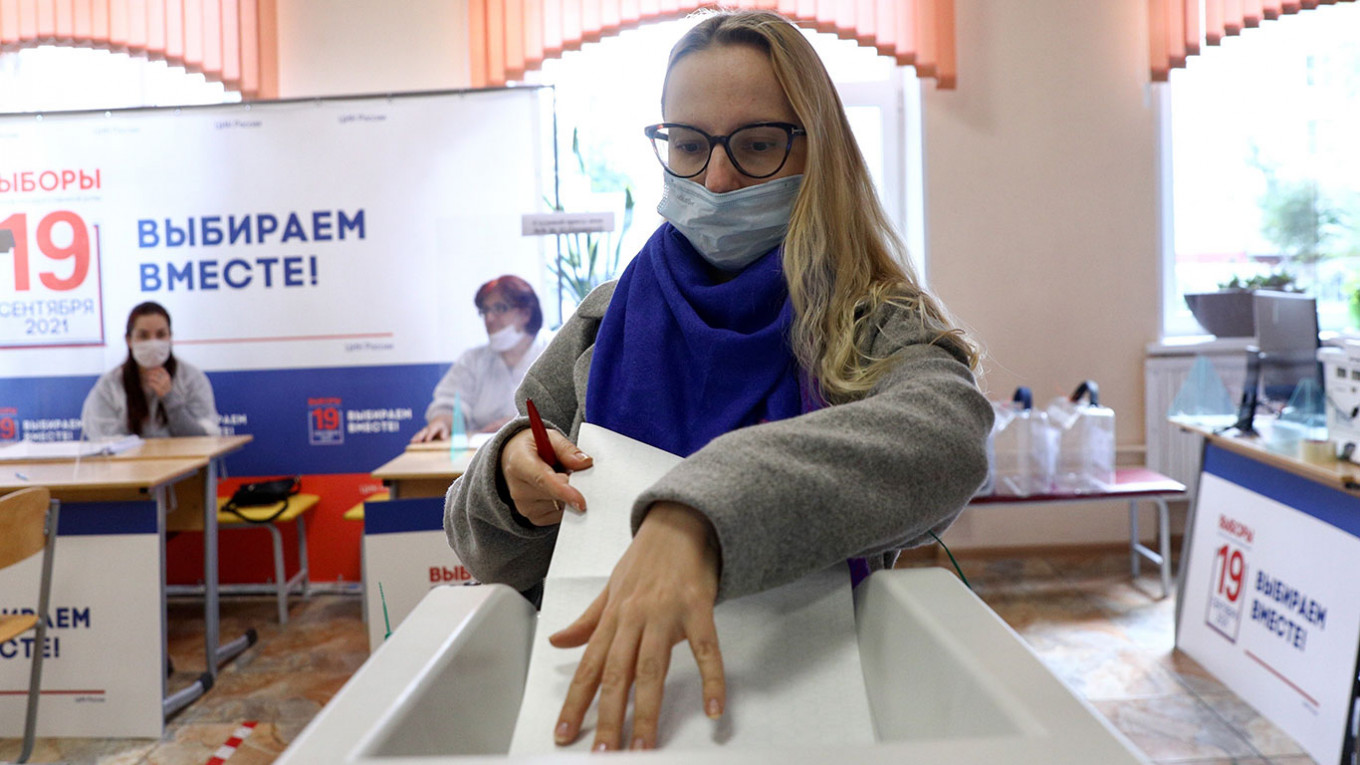 Russia Votes | Sept. 19 – The Moscow Times