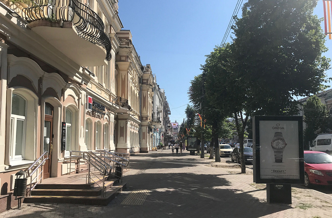 Voronezh's pre-revolutionary streets have been restored as the city prospers. Felix Light / MT