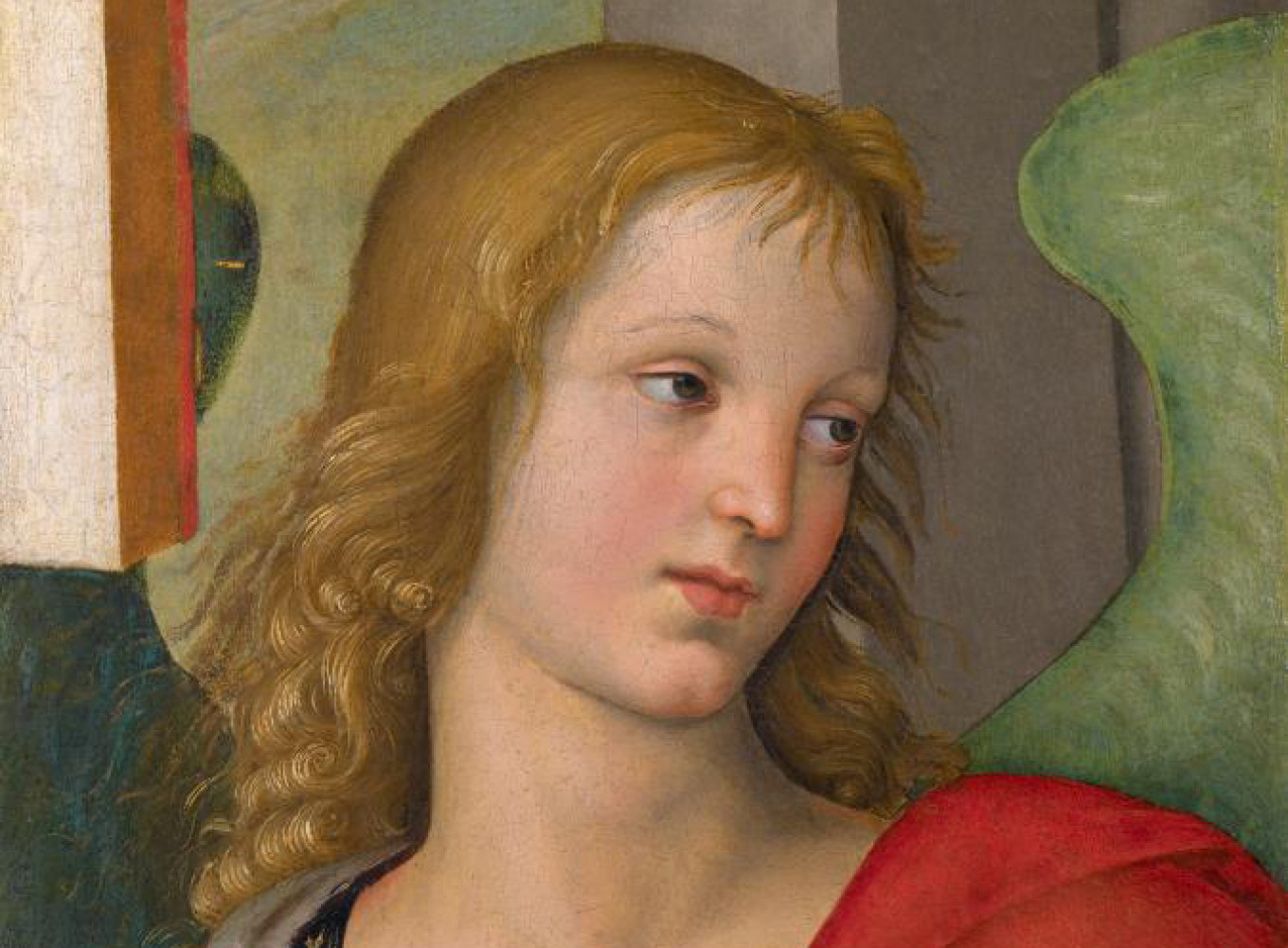 """Angel"" (1500) by Raphael				 				arts-museum.ru"