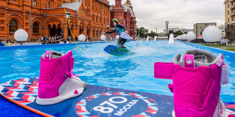 Wake-boarding under the Kremlin walls? Sure, why not? mos.ru